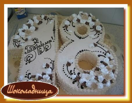 Торт на день рождения на 18 лет своими руками